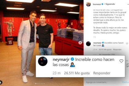 Neymar también apuntó contra la dirigencia del Barcelona