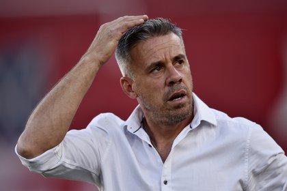Pusineri no continuará al mando de Independiente (REUTERS/Gustavo Garello)