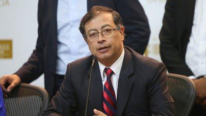 En la foto: El senador Gustavo Petro. (Colprensa - Álvaro Tavera).