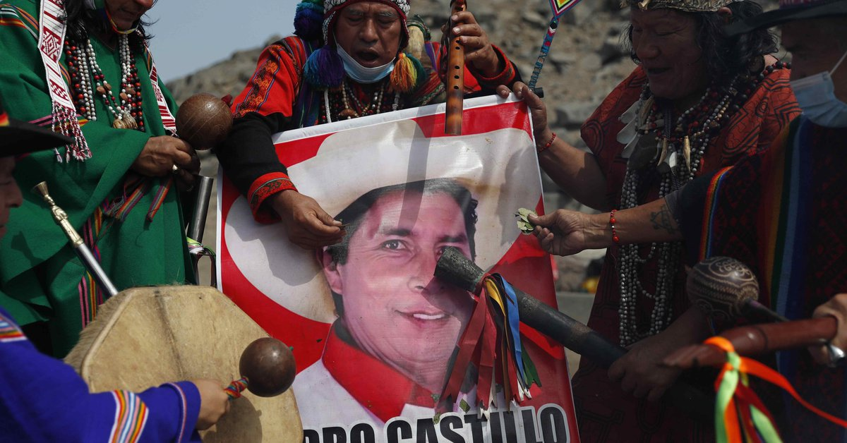 The humble roots of the peasant who aspires to the presidency of Peru