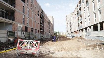 Una parcela en el Barrio Fraga se destinó a la reubicación de familias