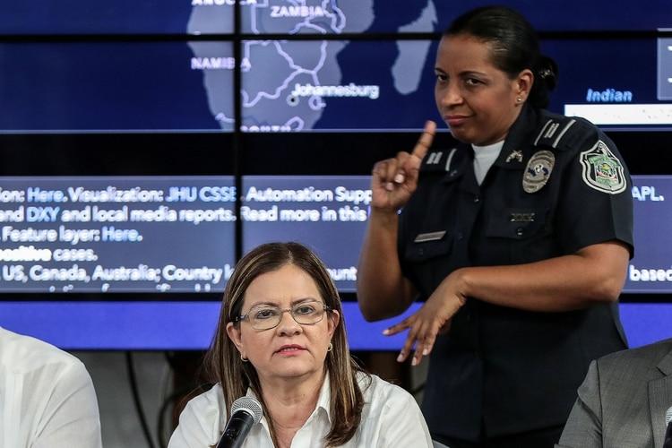 Rosario Turner Ministra de salud de Panamá