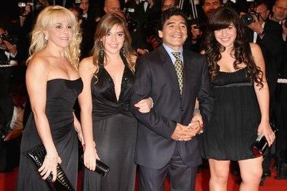 Otros tiempos: Claudia, Dalma, Diego y Gianinna, unidos