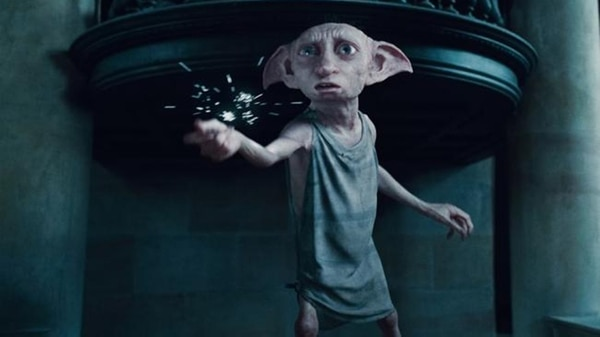 Dobby, el elfo doméstico de Harry Potter (AP)
