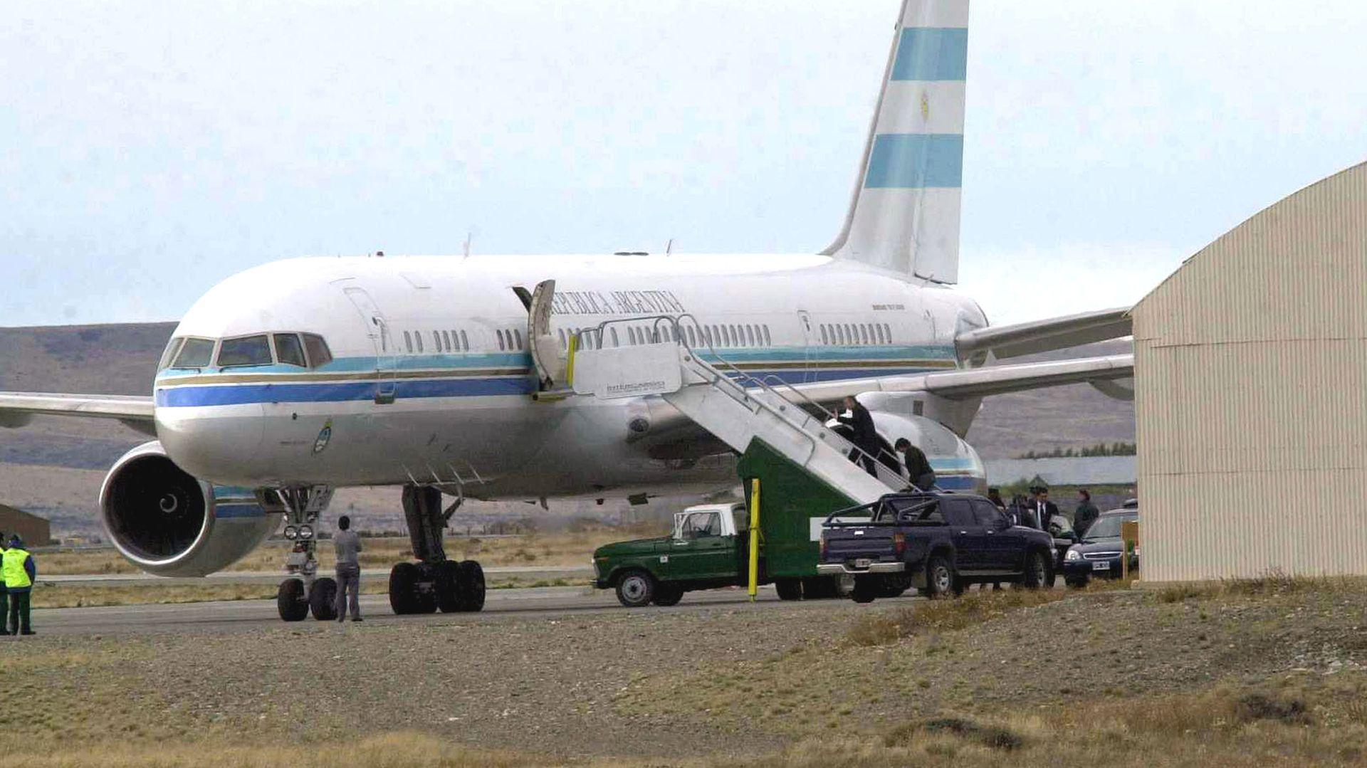 El avión presidencial Tango 01 (NA)