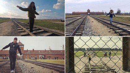 Selfies en Auschwitz: esta moda reciente ha sido muy cuestionada por las organizaciones dedicadas a la memoria de Holocausto (Foto: Archivo)
