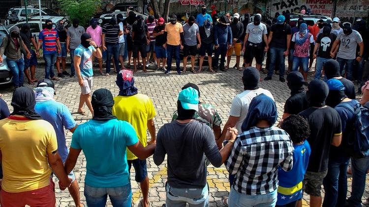 El estado de Ceará está convulsionado (EFE/ Jarbas Oliveira)