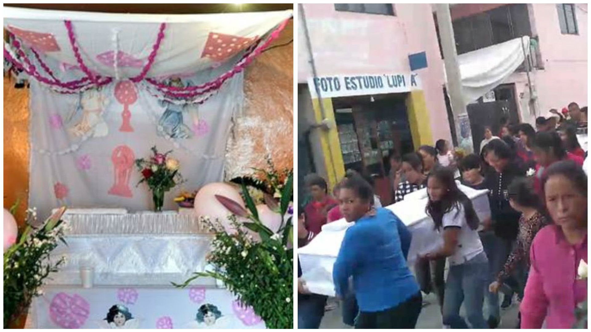 Teresitade 10 años murió a manos de su abuela el domingo por la noche, este miércoles fue enterrada por vecinos. Toda su vida sufrió maltratos ya nadie pudo rescatarla Foto: Facebook