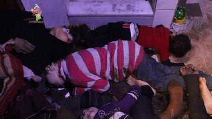 Los resultados del reciente ataque con armas químicasrealizado contra la población civil en Duma