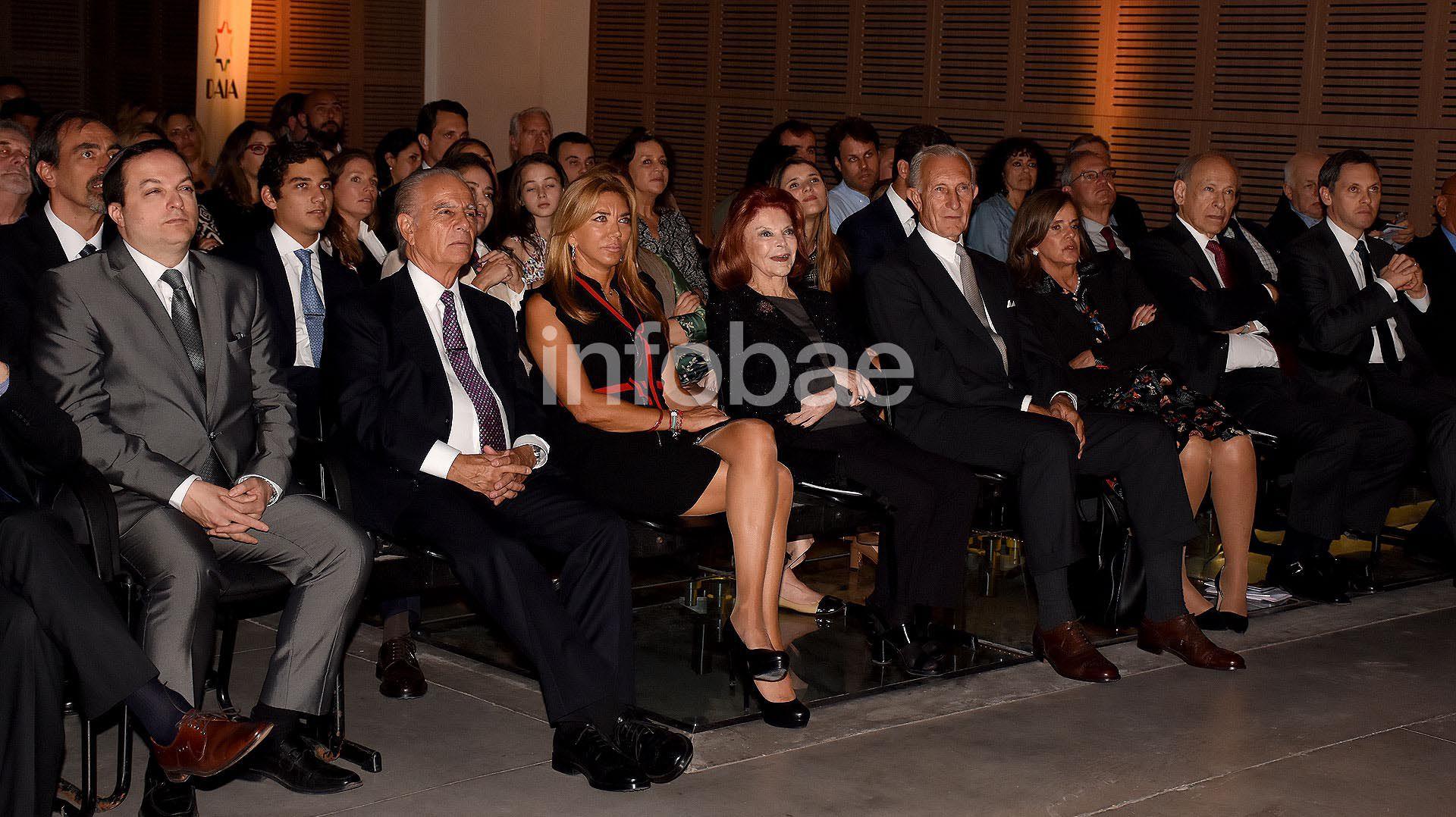 Daia Jorge Neuss y mujer Silvia Saravia marca