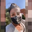 A Nayeli Salvatori la agredieron cuando entregaba apoyos en Cholula, Puebla (Foto: Captura de pantalla/Twitter@GlodeJo07)