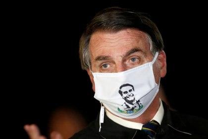 El presidente Jair Bolsonaro (Reuters)