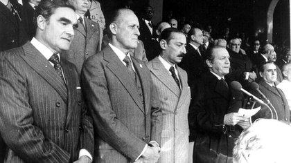Una etapa particularmente nefasta para Argentina fue la que se inició con el golpe del 24 de marzo de 1976 (DyN)