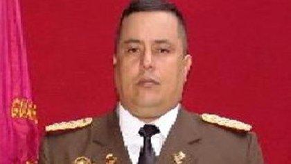 El coronel Víctor Manuel Conde Silva