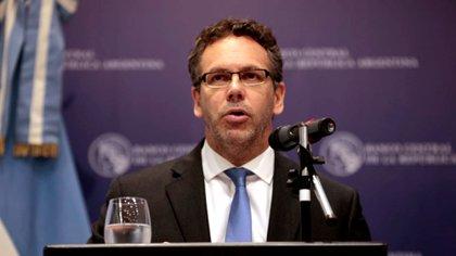 Guido Sandleris, este lunes en conferencia de prensa (Foto: Luciano González)