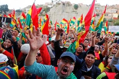 Protestas en Bolivia (REUTERS/Kai Pfaffenbach)