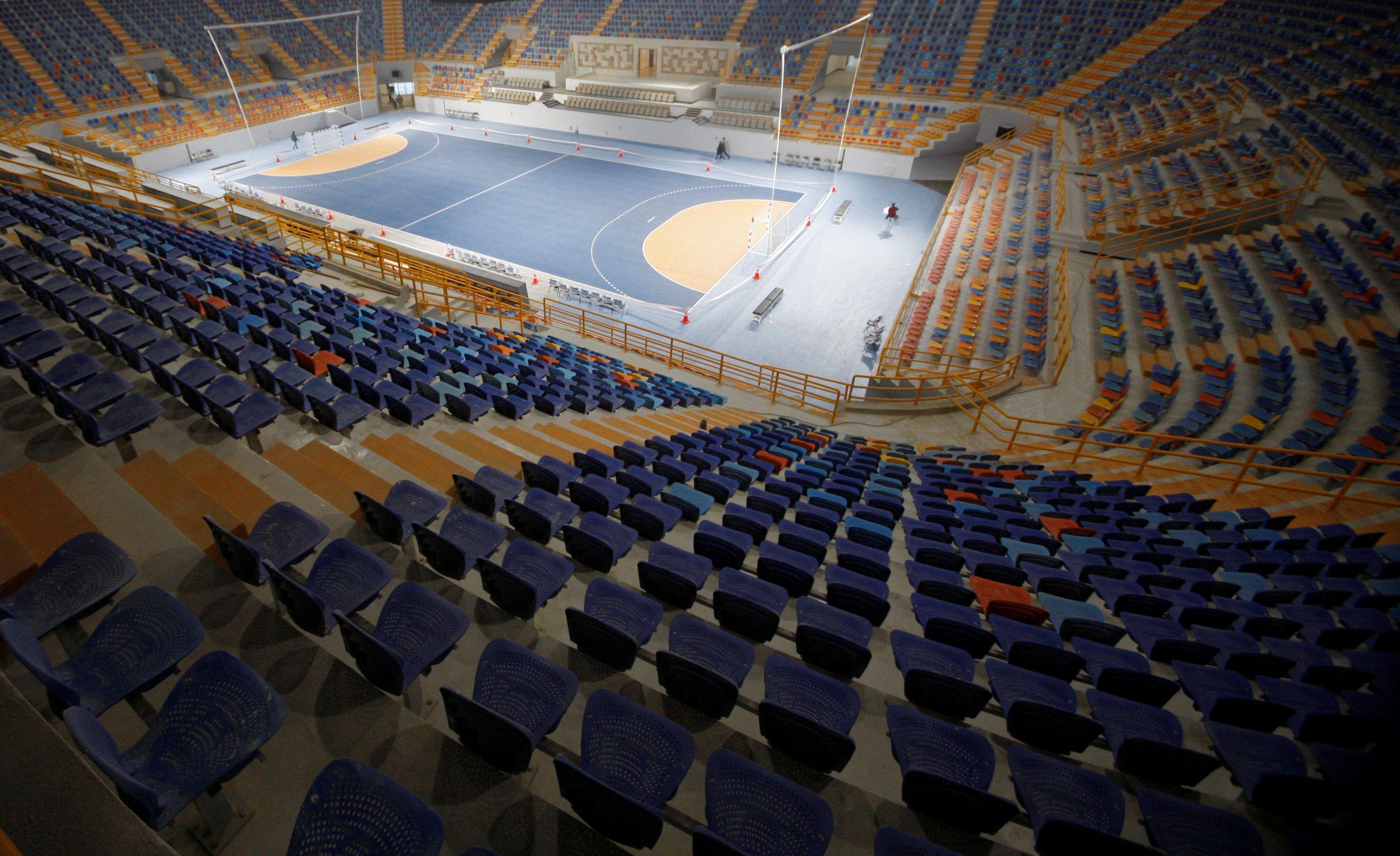 Los estadios del Mundial de Handball de Egipto, listos para albergar la cita máxima (REUTERS/Shokry Hussien)