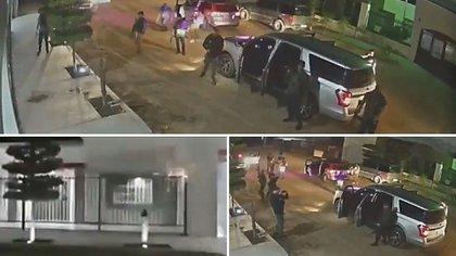 Un grupo de hombres armados, presuntamente de la celda criminal de Los Salazar, asaltó la vivienda de un excomandante de la Policía Municipal de San Luis Río Colorado, Sonora (Foto: Especial)