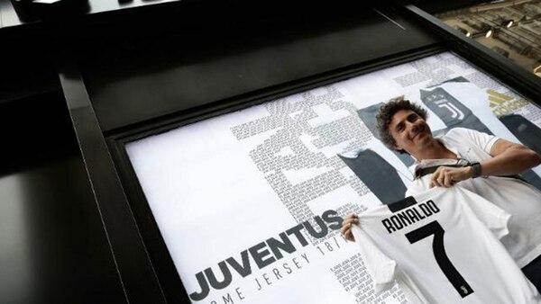 Las camisetas de Ronaldo cuestan 120 dólares pero la Juventus sólo percibe entre el 10 y el 15% de cada venta