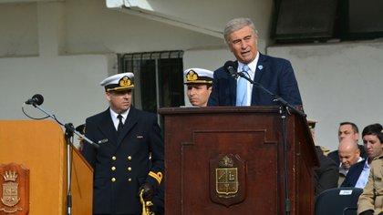 Oscar Aguad fue el ministro que tomó la decisión de convocar al Consejo General de Guerra y su decisión fue respaldada rotundamente por Agustín Rossi