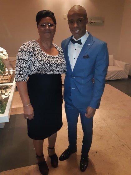Nelly, la mamá de Nicolás De La Cruz (Instagram)