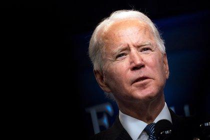 El presidente de EE.UU., Joe Biden. EFE/EPA/KEVIN DIETSCH