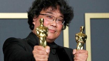 Bong Joon Ho, director de Parasite. REUTERS/Lucas Jackson