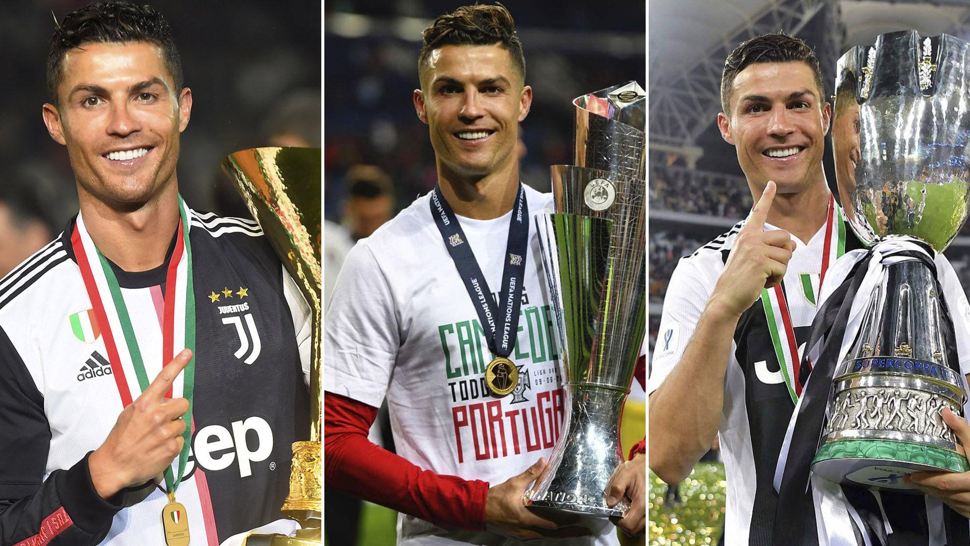 Cristiano Ronaldo ha acabado la temporada 2018/19 con más trofeos y récords para su gran carrera deportiva