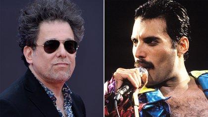 Andrés Calamaro y Freddie Mercury