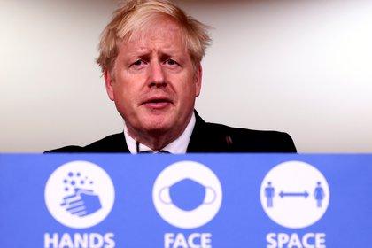 Boris Johnson, primer ministro del Reino Unido (REUTERS/Henry Nicholls)