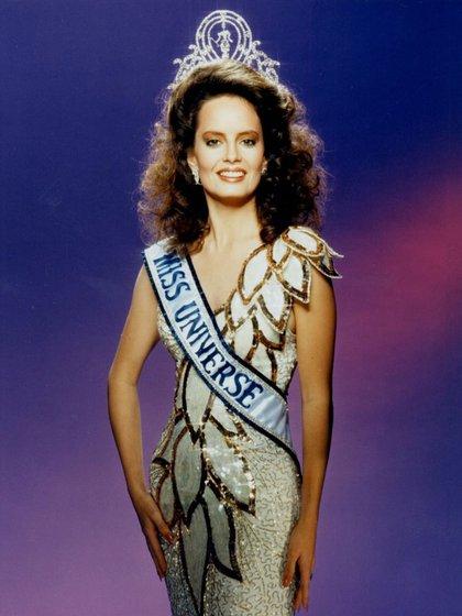 Fue la primera y hasta ahora única chilena que ganó el título de Miss Universo