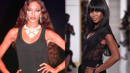 """Naomi Campbell fue, desde un inicio, integrante del selecto grupo de """"supermodelos"""""""