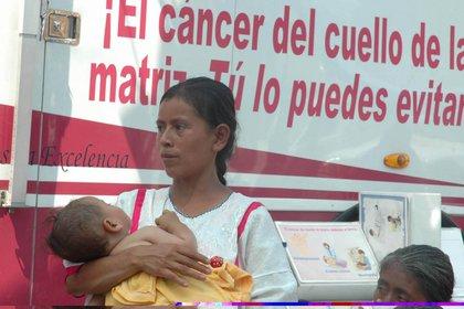 Explicó que cada año se diagnostican más de 500.000 casos de tumores de cuello uterino en el mundo y que estos provocan 260.000 muertes.  (FOTO: SSA / EDUARDO MORALES / CUARTOSCURO)