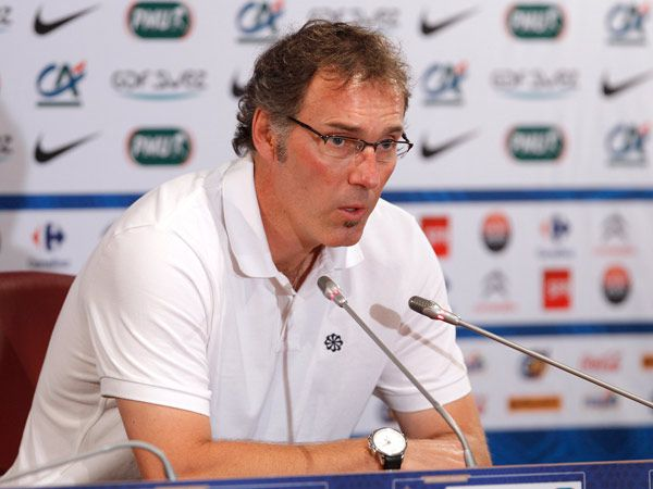 Laurent Blanc is the coach of Al-Rayyan from Qatar.  Photo: REUTERS