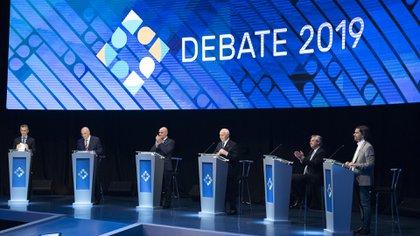 """Durante el debate presidencial, Espert calificó a Alberto Fernández y a Mauricio Macri como """"lo mismo"""" (Adrián Escandar)"""