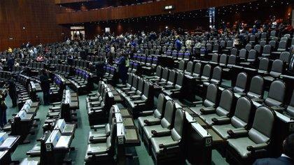 La ausencia de la oposición fue notoria en el recinto (Foto: Cuartoscuro)