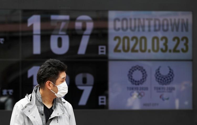 La cuenta regresiva a los Juegos Olímpicos está en suspendo (Reuters)