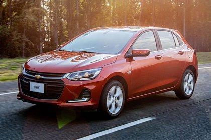 La versión hatchback se denomina solamente Onix (Chevrolet)