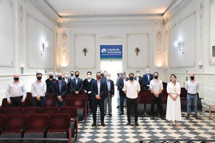 À La Plata, Carlos Bianco a rencontré des représentants du secteur des jeux