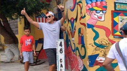 El 27 de diciembre el artista estuvo en el tradicional Barrio Abajo, Barranquilla, al parecer para grabar un video y extender a los lugareños la invitación a su concierto virtual.