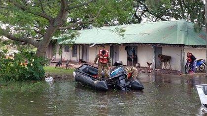 En Entre Ríos, varias personas tuvieron que ser evacuadas (NA)