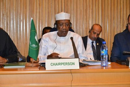 01/01/1970 El presidente de Chad, Idris Déby, durante la cumbre de la Unión Africana POLITICA AFRICA CHAD INTERNACIONAL PRESIDENCIA DE CHAD