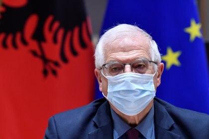 El alto representante para la Política Exterior de la UE, Josep Borrell (John Thys/Pool via REUTERS)