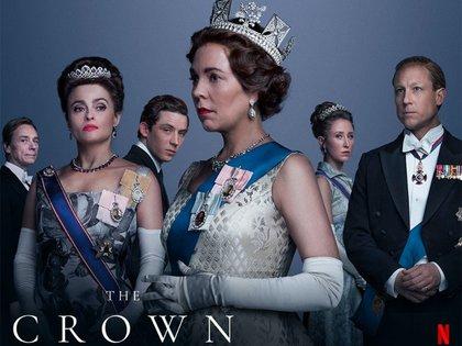 """""""The Crown"""" es una serie escrita por Peter Morgan y producida por Left Bank Pictures para Netflix (Foto: Twitter@RobertGayol)"""