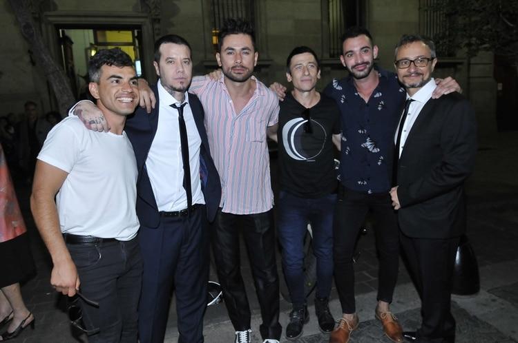 Abel Ayala, Sebastián Ortega, Daniel Pacheco, Diego Cremonesi, Ignacio Sureda y Pablo Culell