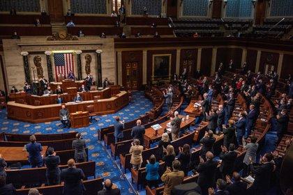 El Congreso aceleró el proceso de ratificación de la victoria de Biden
