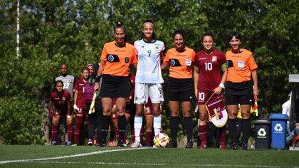 La cordobesa llevó la cinta en un torneo internacional (Foto: Stefanía León / Prensa AFA)