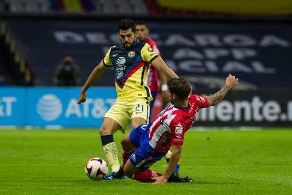 El delantero juega con el equipo de Coapa desde 2018 (Foto: Cortesía/ Atlético de San Luis)