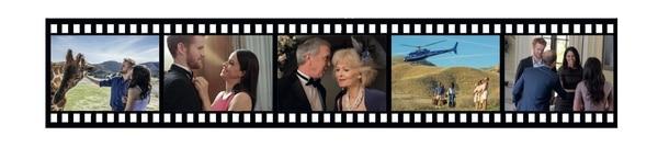 Imágenes del film 'Meghan & Harry, una historia de amor real'