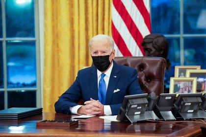 En la imagen, el presidente de Estados Unidos, Joe Biden (EFE/Doug Mills/Archivo)